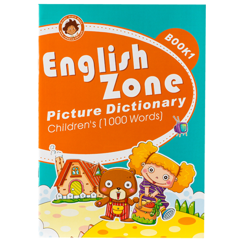 English Zone picture dictionary Book 1