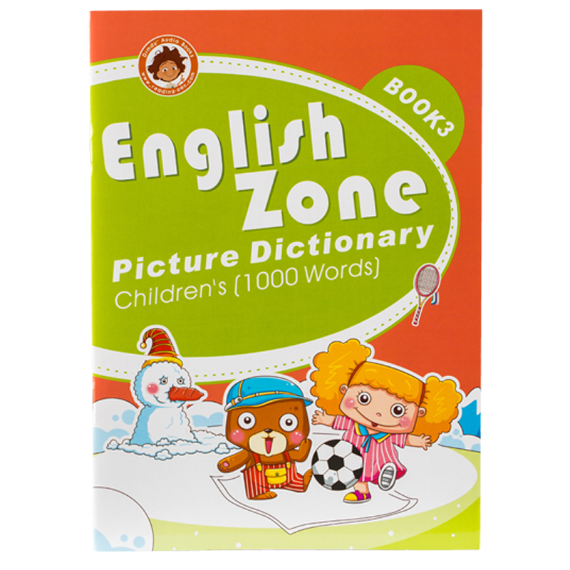 English Zone picture dictionary Book 3