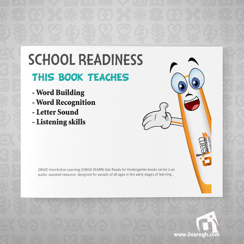 Learn to read Series Level 1 (Get Ready for Kindergarten )